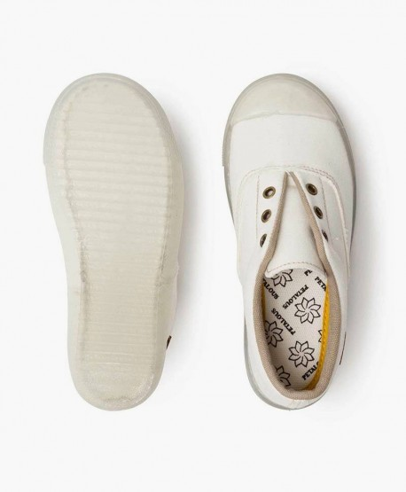 Zapatillas Antimosquitos PETALOUS Blancas Olor Limón para Niños 3 en Kolekole