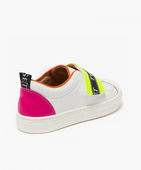 Zapatillas TWINSET blancas Logo Niña