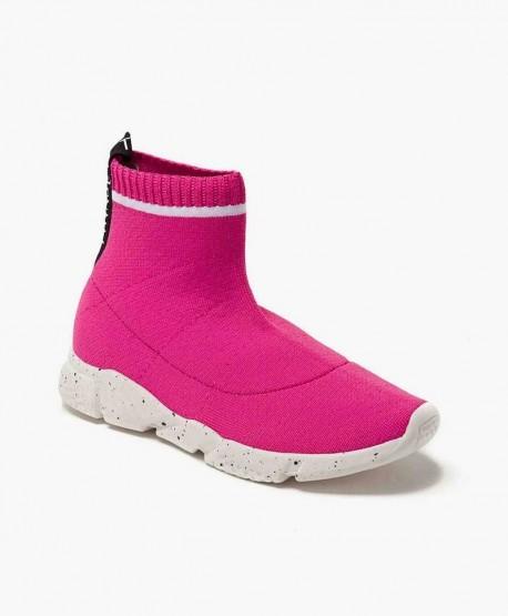 Zapatillas TWIN-SET Tejido Elástico Rosa. Zapatos para Niña 0 en Kolekole