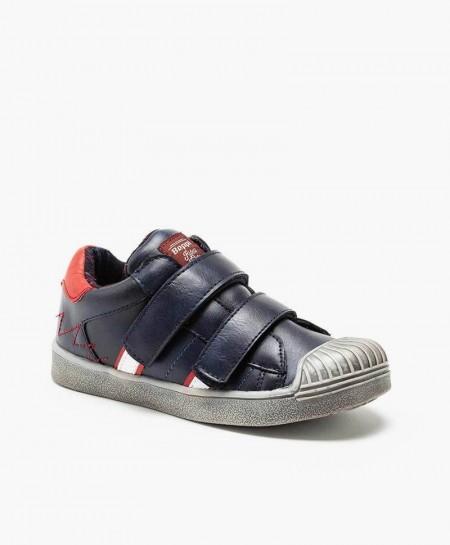 Beppi Zapato Azul Casual Niño