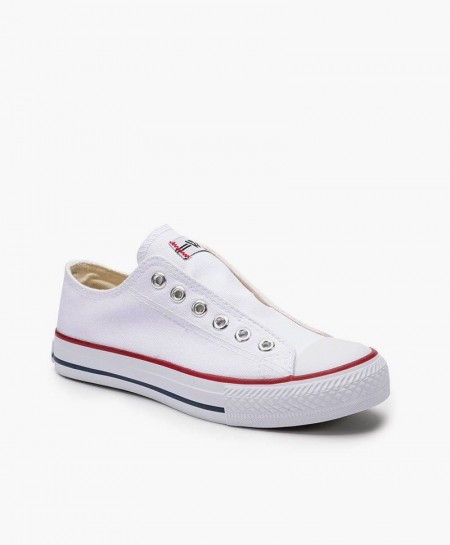 Zapatillas BEPPI Blancas de Lona para Chicos