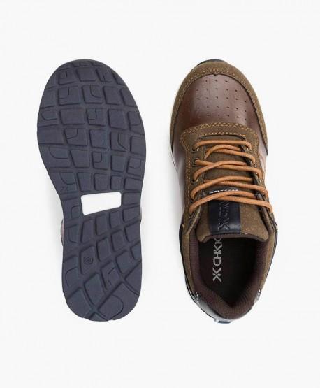 Chika10 Zapato Sport Cuero Piel Niña en Kolekole