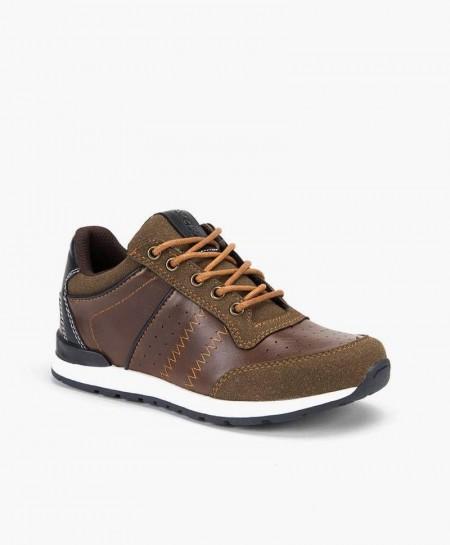 Chika10 Zapato Sport Cuero Piel en Kolekole