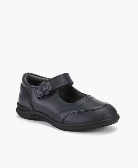 Zapatos Colegiales CHETTO Merceditas de Piel para Niña 2 en Kolekole