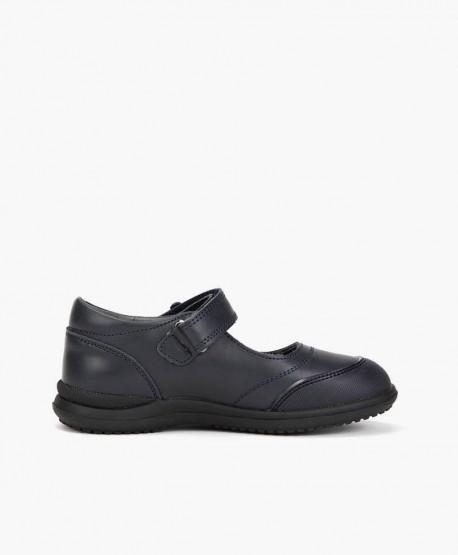 Zapatos Colegiales CHETTO Merceditas de Piel para Niña 3 en Kolekole