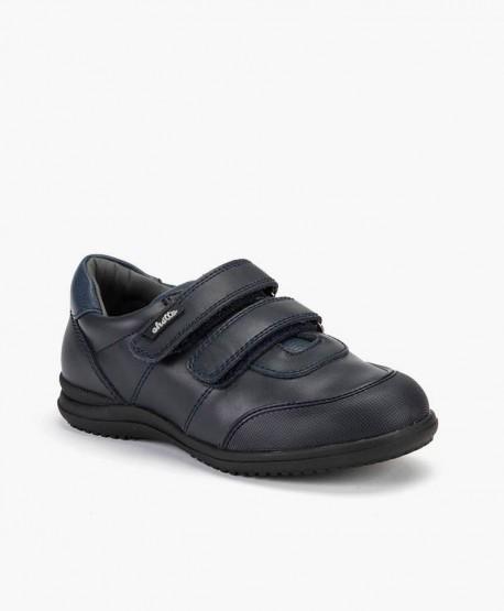 Chetto Zapato Colegial Piel Niño