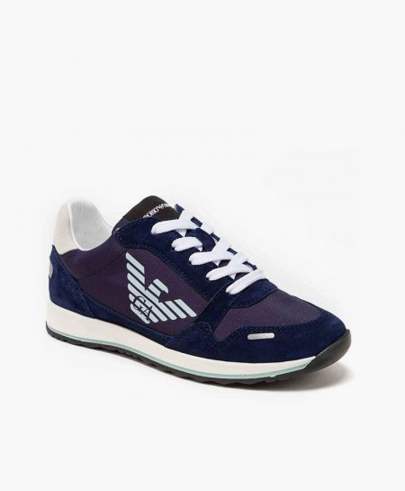 Sneakers EMPORIO ARMANI Azul Marino Chica y Chico