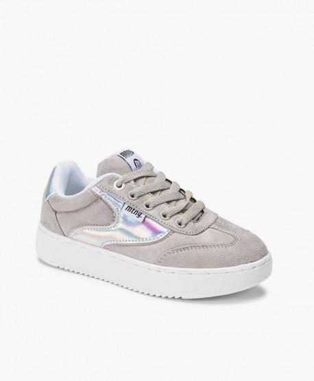 Sneakers MUSTANG Plata para Chica y Mujer 3 en Kolekole