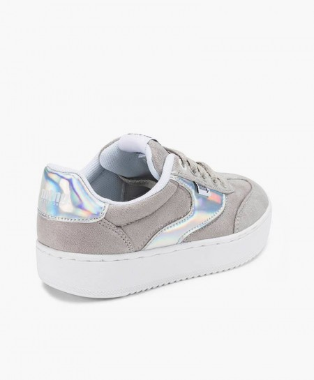 Sneakers MUSTANG Plata para Chica y Mujer