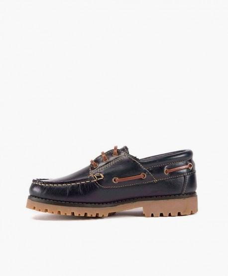 Zapatos Náuticos GORILA Azul Marino para Chicos 2 en Kolekole