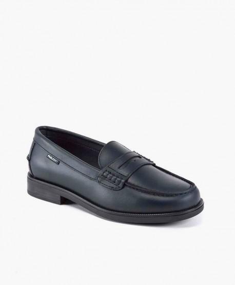 Zapatos Mocasines PABLOSKY Azul Piel Chica y Chico 2 en Kolekole