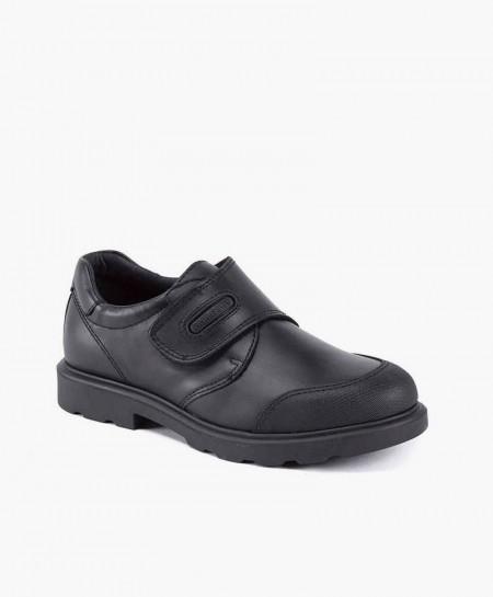 Zapatos Colegiales PABLOSKY Negros De Piel Para Niño en Kolekole