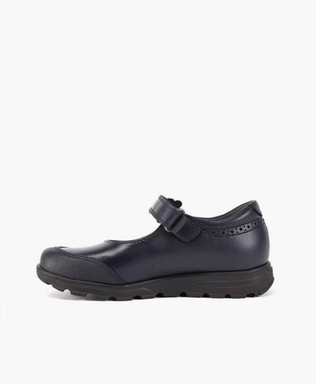 Zapatos Colegiales Merceditas PABLOSKY Azul de Piel para Niña 3 en Kolekole