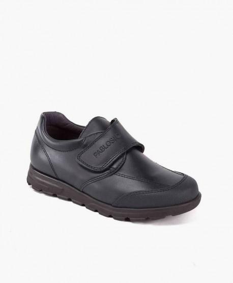 Zapatos Colegiales PABLOSKY Azul de Piel para Niño 0 en Kolekole
