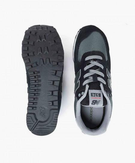 Zapatillas NEW BALANCE Negras y Verdes Chica y Chico