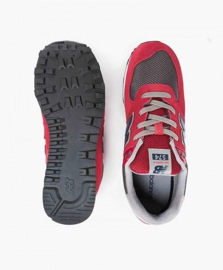 Zapatillas NEW BALANCE Burdeos y Gris Chica y Chico