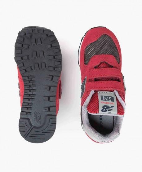 New Balance Zapatilla Burdeos Gris Velcro Lifestyle en Kolekole