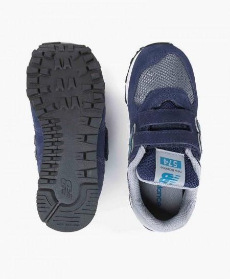 Zapatillas NEW BALANCE Azul Marino y Gris Niña y Niño