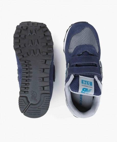 Zapatillas NEW BALANCE Azul Marino y Gris para Niños 3 en Kolekole