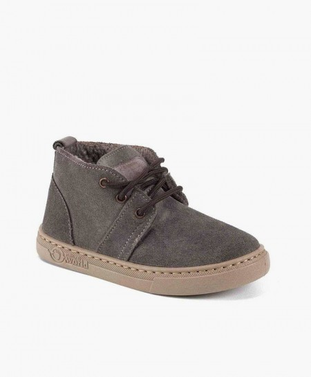 Pisacacas Botas Safari NATURAL WORLD Gris para Niños