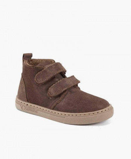 Pisacacas Botas Safari NATURAL WORLD Marrones para Niños 0 en Kolekole