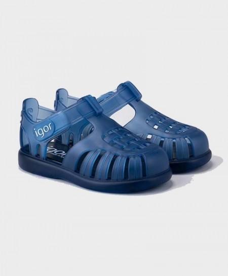 Cangrejeras IGOR Azul Marino Velcro Niña y Niño