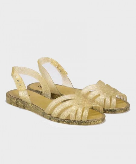 Sandalias Oro Purpurina IGOR Chica Mujer