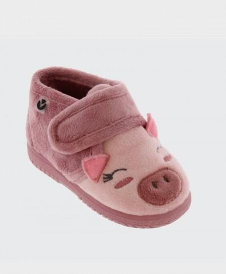 Zapatillas de Casa VICTORIA cerdito Niña y Niño