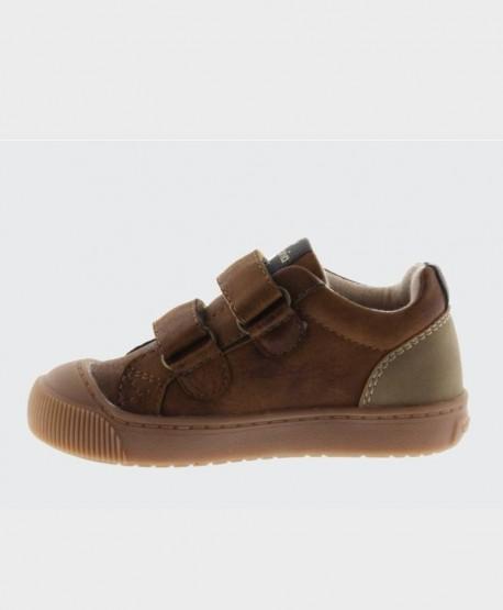 Zapatos Sport VICTORIA Marrón Cuero Niña Niño 3 en Kolekole