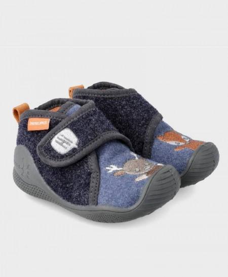 Zapatillas de Casa BIOMECANICS Azul Niña Niño