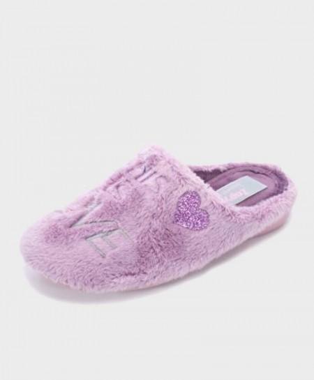 Zapatillas de casa ZAPY Violeta rosado Niña Chica en Kolekole