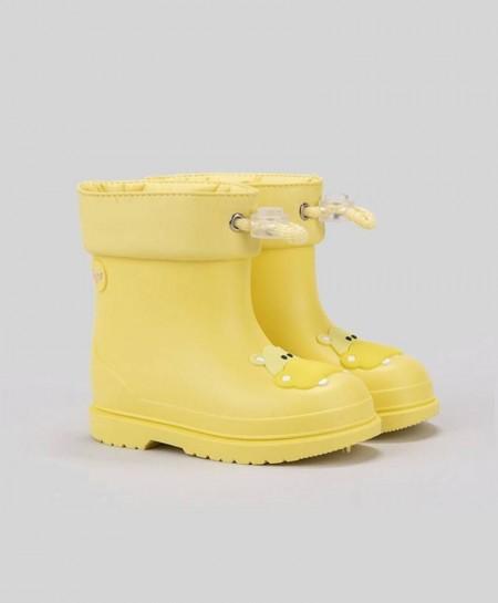 Botas de agua IGOR Amarillas Hipopótamo Niña Niño