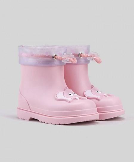 Botas de agua IGOR Rosa Elefante Niña