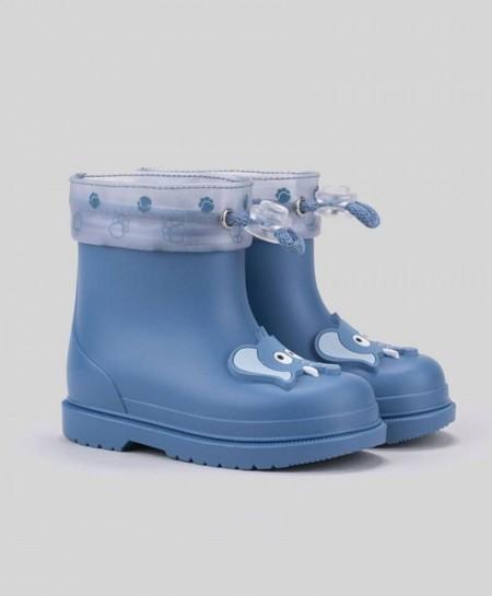 Botas de agua IGOR Azul Elefante Niña Niño