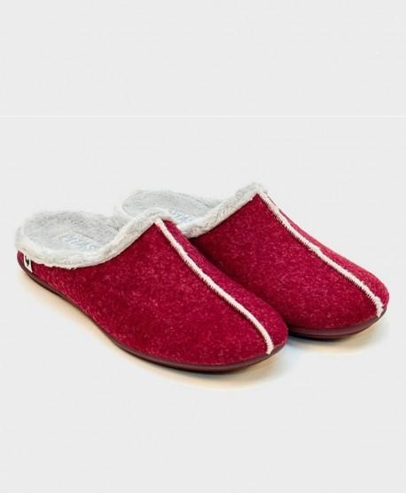 Zapatillas de Casa PITAS Burdeos Chica Mujer 0 en Kolekole
