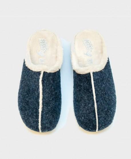 Zapatillas de Casa PITAS Azul Chica Mujer 2 en Kolekole