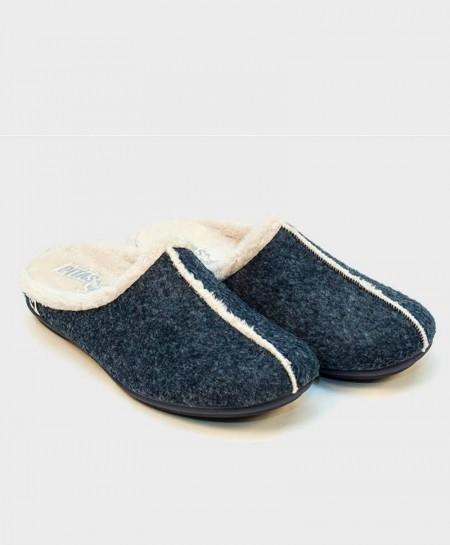 Zapatillas de Casa PITAS Azul Chica Mujer
