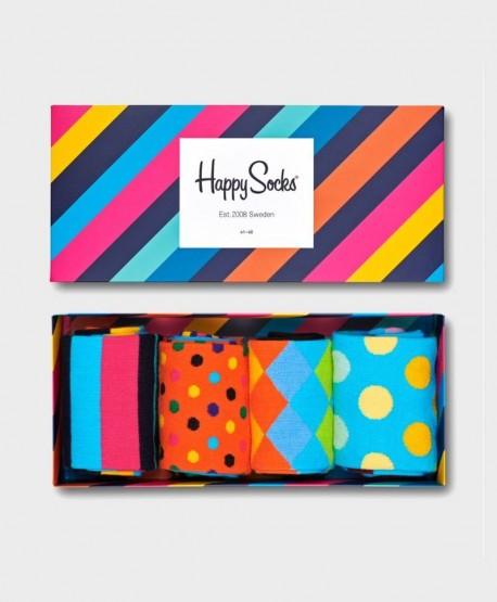 Caja Regalo Calcetines HAPPY SOCKS clásicos Multicolor 0 en Kolekole