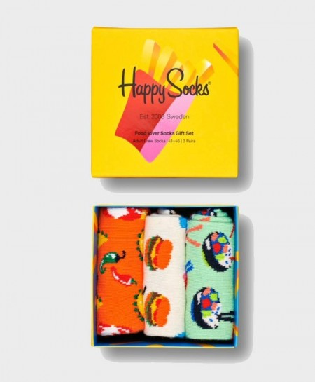 Caja Regalo Calcetines HAPPY SOCKS Food Lover