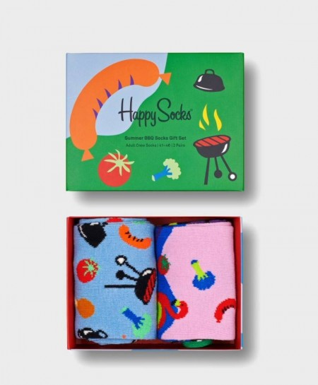 Caja Regalo Calcetines HAPPY SOCKS Barbacoa
