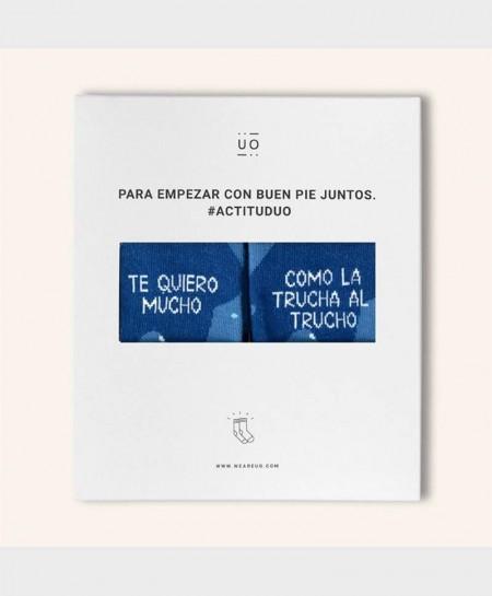 Kit Regalo Calcetines UO Originales y Divertidos Trucho 0 en Kolekole