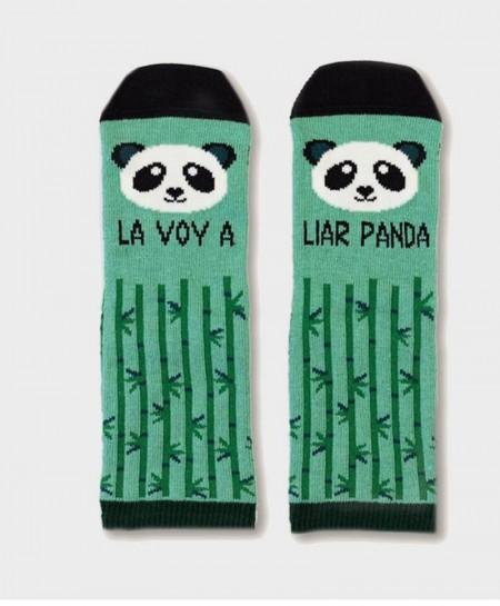 Mini Calcetines UO Originales y Divertidos Liar Panda Niña Niño