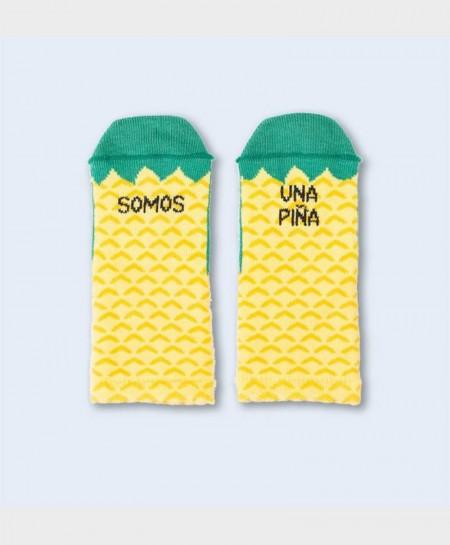 Mini Calcetines UO Originales y Divertidos Somos una Piña