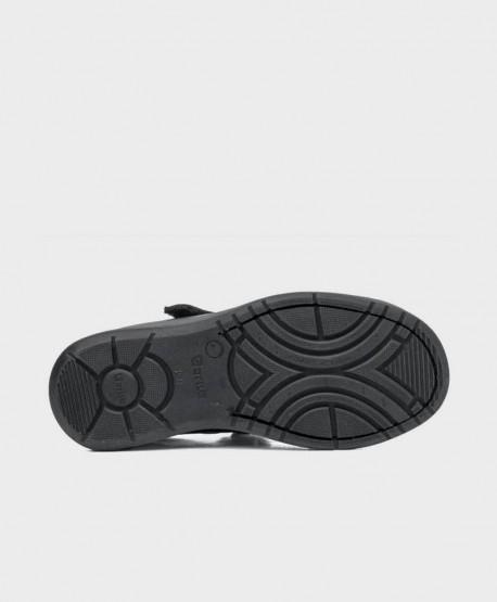 Zapatos Colegiales Merceditas GORILA Negros Piel Niña 3 en Kolekole