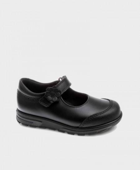 Zapatos Colegiales Merceditas PABLOSKY Negros de Piel para Niña