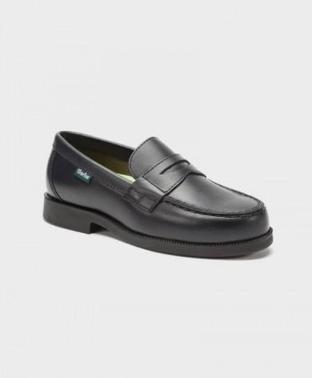 Zapatos Mocasines Colegiales GORILA Azul Niño