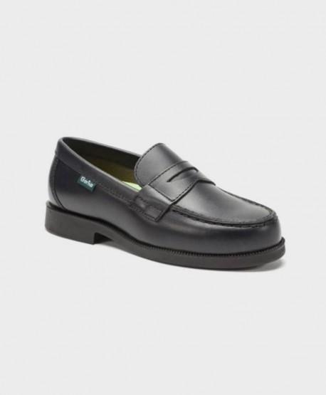 Zapatos Mocasines Colegiales GORILA Azul Chico 0 en Kolekole