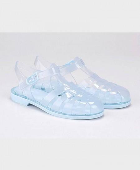 Sandalias Cangrejeras IGOR Azul Transparentes Chica Mujer