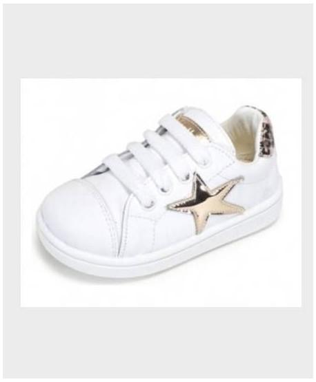 Zapatillas ZAPY Blancas Estrella Niña Niño en Kolekole