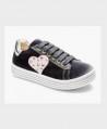 Sneakers TWINSET Terciopelo Corazón Chica Mujer 0